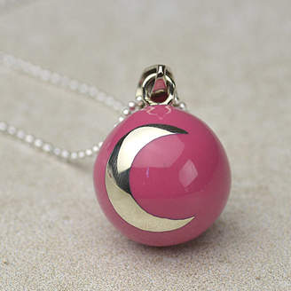 Tales From The Earth Pregnancy Necklace With Star And Moon Design