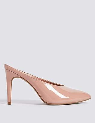 Marks and Spencer Stiletto Heel Pointed Mule Shoes