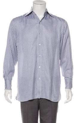 Tom Ford Gingham Woven Shirt