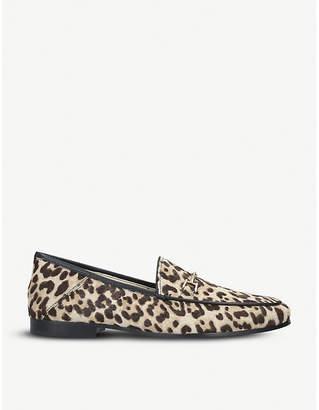 509eb3dd9b3470 Sam Edelman Loraine leopard-print ponyhair loafers