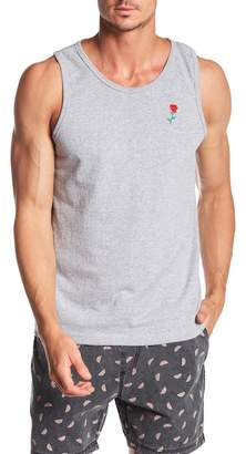 Riot Society Rose Embroidered Tank Top