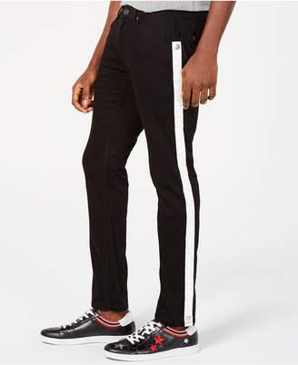 INC International Concepts I.n.c. Men Skinny-Fit Stretch Side-Stripe Jeans