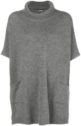 Ermanno Scervino short-sleeve roll neck sweater