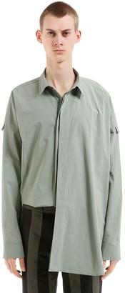 Damir Doma Oversize Cotton Poplin Shirt