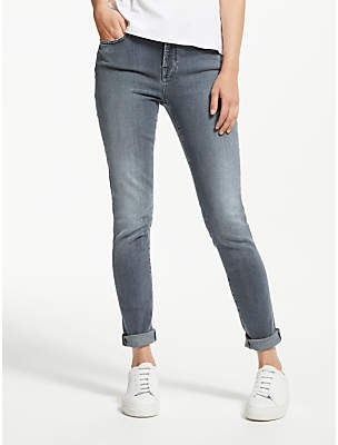 7 For All Mankind High Waist Skinny Slim Illusion Jeans, Lounge