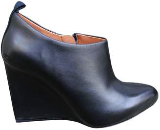See by Chloe Black Leather Ankle boots