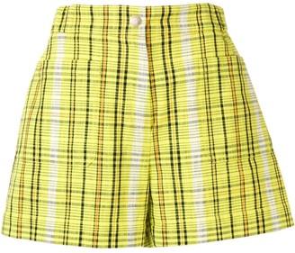 Kenzo check shorts