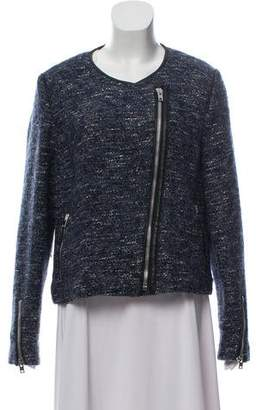 Gerard Darel Wool-Blend Textured Jacket