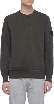 Stone Island Panelled patch pocket sweatshirt
