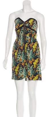 Vena Cava Silk Floral Dress