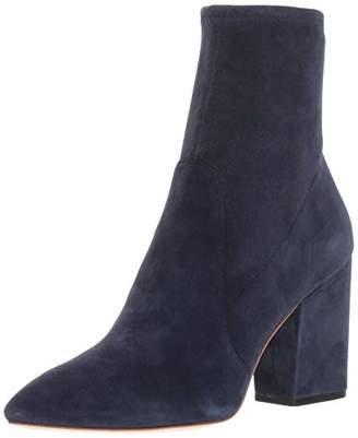 Loeffler Randall Women's ISLA Slim Ankle Bootie with Chunky Heel