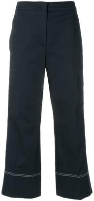 Sportmax stripe detail trousers