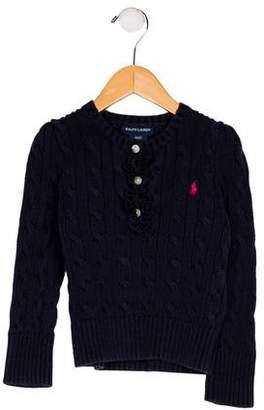 Ralph Lauren Boys' Knit Long Sleeve Sweater