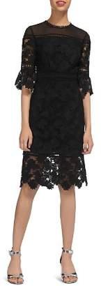 Whistles Amanda Scalloped Lace Dress