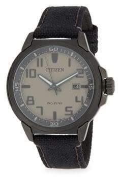 Citizen Stainless Steel Sports Analog Strap Watch