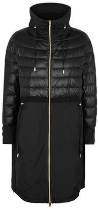 Herno Black Quilted Shell Jacket