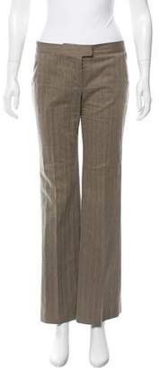 Stella McCartney Herringbone Mid-Rise Pants