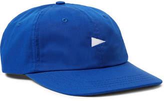 Pilgrim Surf + Supply Logo-Embroidered Twill Baseball Cap