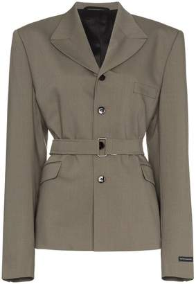Gmbh belted jacket blazer