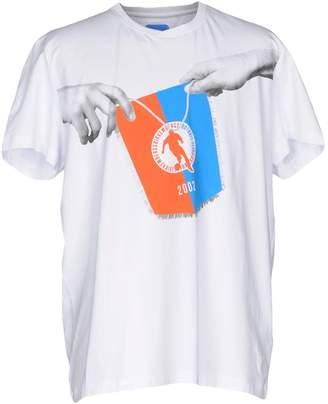 Bikkembergs T-shirts - Item 12052011BW