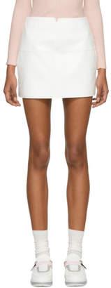 Courreges White Vinyl Miniskirt