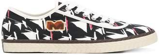 Marni sail boat print sneakers