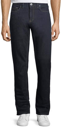 Ermenegildo Zegna Stretch-Denim Straight-Leg Luxury Jeans