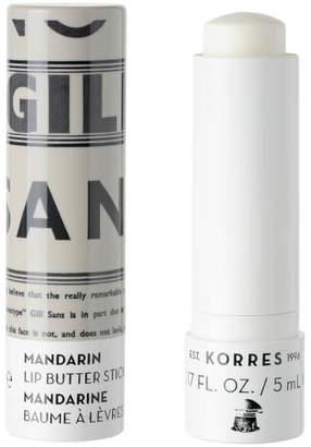 Korres Lip Butter Stick Spf15 - Clear
