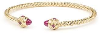 David Yurman Renaissance Bracelet in 18K Gold, 3.5mm