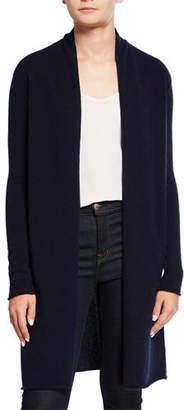 Neiman Marcus Basic Cashmere Duster Cardigan