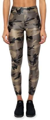 Koral Lustrous High-Rise Camo-Print Leggings
