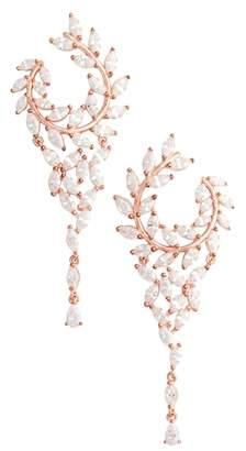 Nina Fern Chandelier Drop Earrings