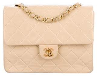Chanel Lambskin Quilted Mini Square Flap Bag