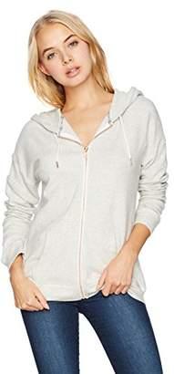 Volcom Junior's Womens' Lil Zip Up Hooded Fleece