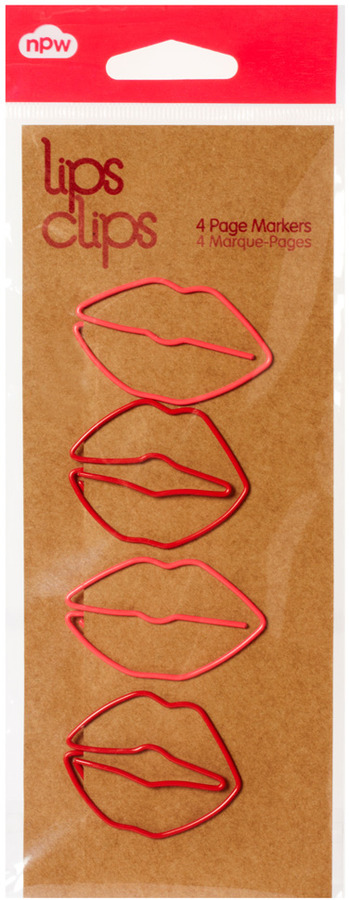 Asos Lips Paper Clips