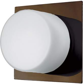 Dainolite One-Light Frosted-Glass Ceiling Wall Fixture