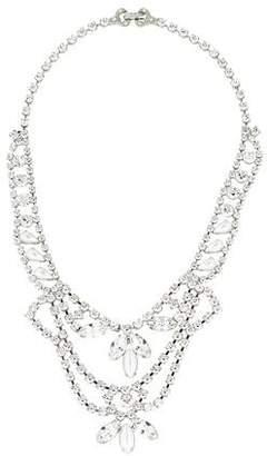 Tom Binns Crystal & Pearl Collar Necklace