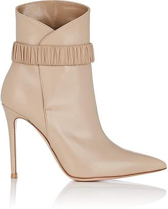 Gianvito Rossi Women's Strap-Detailed Leather Ankle Boots