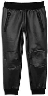 True Religion Boys' Faux-Leather Moto Pants - Little Kid, Big Kid