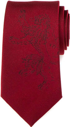 Cufflinks Inc. Game of Thrones Lannister Lion Sigil Silk Tie