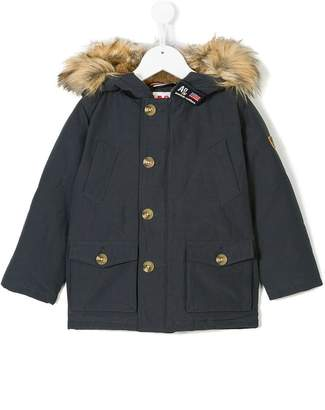 American Outfitters Kids faux fur trimmed coat