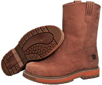 Muck Boot Muck Wellie Classic Soft Toe Men's Leather Work Boots, Medium Width