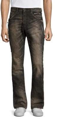 PRPS Demon Interacti Distressed Slim-Fit Jeans