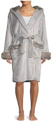 PJ Salvage Faux Fur Robe