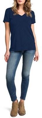 Women's Lamade Cotton V-Neck Tee $37 thestylecure.com