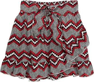 Scotch R'Belle Ruffle Faux Wrap Skirt