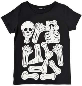 Glow In The Dark Bones Jersey T-Shirt