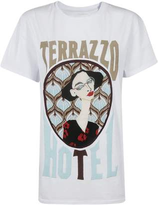 Circus Hotel Embroidered Logo T-Shirt