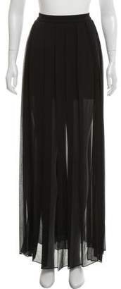 Versace Pleated Maxi Skirt w/ Tags