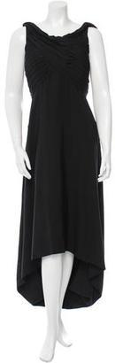 Yohji Yamamoto Silk Sleeveless Dress w/ Tags $525 thestylecure.com